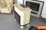 Кафельная печь камин Kaw-met W9 глянцевая кремовая 12.8 кВт 5