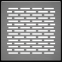 Решетка KRATKI половая Floor шлифованая 17х17 см 2