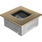 Решетка KRATKI позолоченная 11х11 см 0