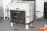 Кафельная печь камин Kaw-met W9 глянцевая кремовая 12.8 кВт 6