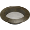 Решетка KRATKI круглая FI чёрно-золотая 100 мм 0