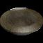 Решетка KRATKI круглая FI чёрно-золотая 150 мм 0