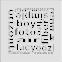 Решетка KRATKI ABC белая 17х17 см 2