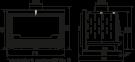 Каминная топка SEGUIN INSERT VISIO 7 - BLACK LINE PLUS закрытая камера сжигания 0