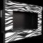 Биокамин Kratki Delta Czarny Zebra 1