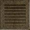 Решетка KRATKI FRESH чёрно-золотая 17х17 см 2