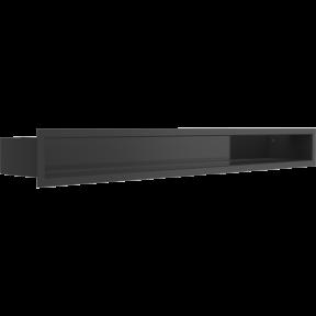 Решетка KRATKI люфт SF чёрный 90х800 мм