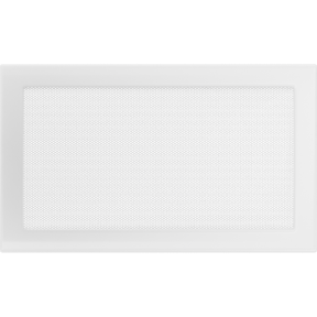 Решетка KRATKI белая (покрашенная) 22х37 см
