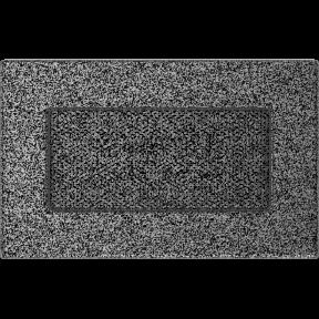 Решетка KRATKI чёрное серебро (покрашенная) 11х17 см