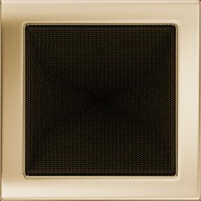 Решетка KRATKI позолоченная 22х22 см