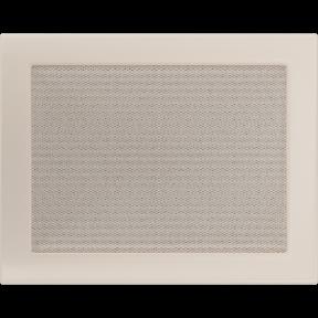 Решетка KRATKI бежевая (покрашенная) 22х30 см