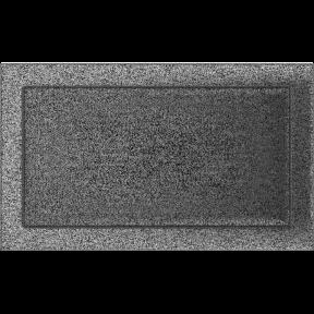 Решетка KRATKI чёрное серебро (покрашенная) 22х37 см