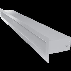 Решетка KRATKI туннель белая 6х60 см