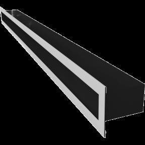 Решетка KRATKI туннель шлифованая 6х100 см