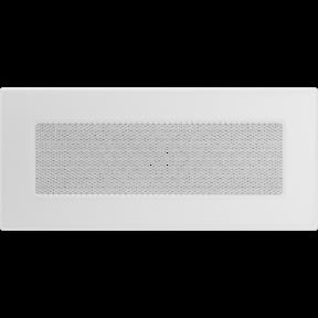 Решетка KRATKI белая (покрашенная) 11х24 см