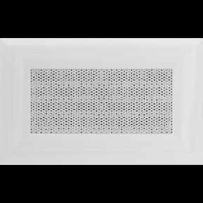 Решетка KRATKI Oskar белый (покрашенная) 11х17 см