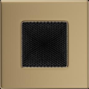 Решетка KRATKI золото гальваническое 11х11 см