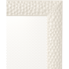 Решетка  Kratki Venus бежевый (покрашенная) 22х22 см