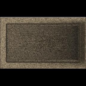 Решетка KRATKI чёрное золото (покрашенная) 22х37 см