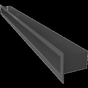 Решетка KRATKI туннель чёрная 6х100 см