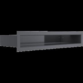 Решетка KRATKI люфт графитовая 6х40 см