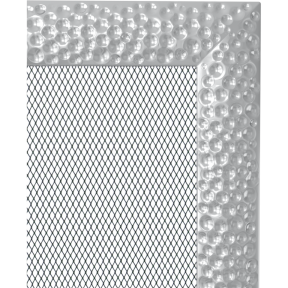Решетка KRATKI Venus никелированый 22х30 см