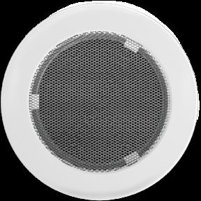 Решетка KRATKI круглая FI белая 125 мм