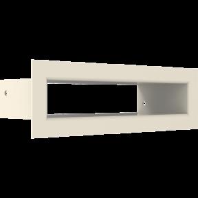 Решетка KRATKI туннель бежевая 6х20 см