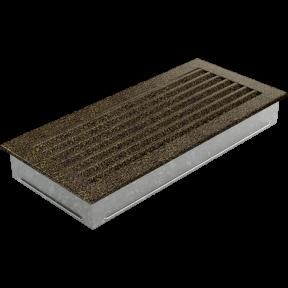 Решетка KRATKI FRESH чёрно-золотая 17х37 см