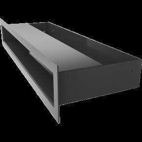 Решетка KRATKI люфт SF чёрный 60х400 мм