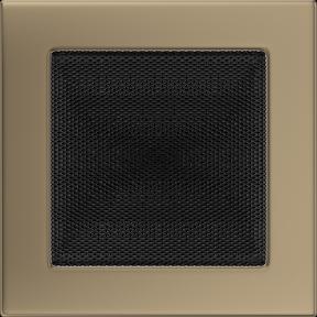 Решетка KRATKI золото гальваническое 17х17 см