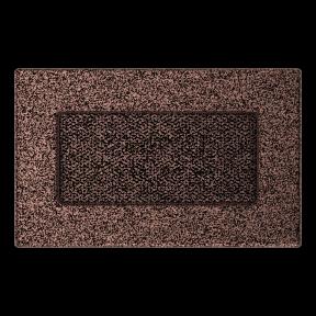 Решетка KRATKI медная (покрашенная) 11х17 см