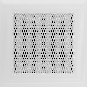 Решетка KRATKI Oskar белый (покрашенная) 11х11 см