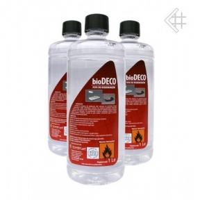 KRATKI жидкость для биокаминов DECO 1л.
