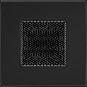 Решетка KRATKI чёрная (покрашенная) 11х11 см