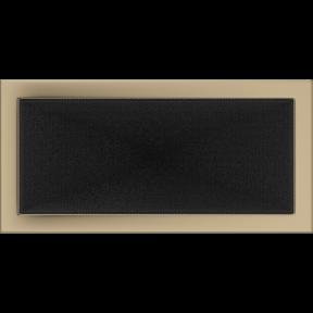 Решетка KRATKI золото гальваническое 22х45 см
