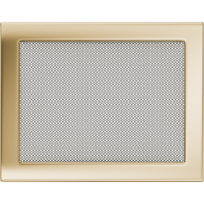 Решетка KRATKI позолоченная 22х30 см