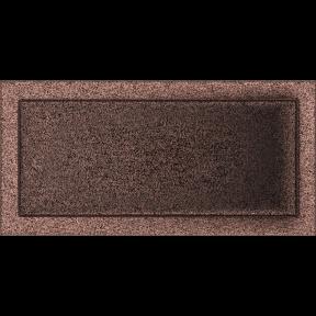 Решетка KRATKI медная (покрашенная) 22х45 см