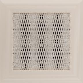Решетка KRATKI Oskar бежевый (покрашенная) 17х17 см