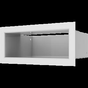 Решетка KRATKI люфт SF белый 90х200 мм