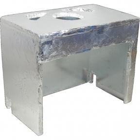 KRATKI изоляция к топке с водяным контуром AMELIA с правым стеклом, без рамы