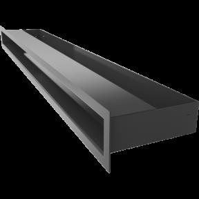 Решетка KRATKI люфт SF графитовый 60х800 мм