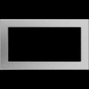 Решетка KRATKI шлифованная 17х30 см