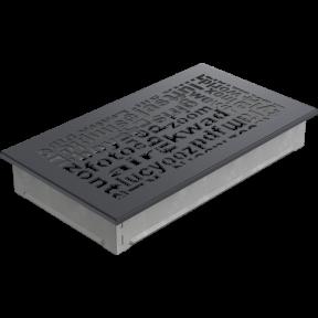 Решетка KRATKI ABC гранитная 17х30 см