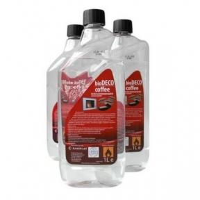 KRATKI жидкость для биокаминов DECO COFFEE 1л.