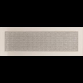 Решетка KRATKI бежевая (покрашенная) 17х49 см