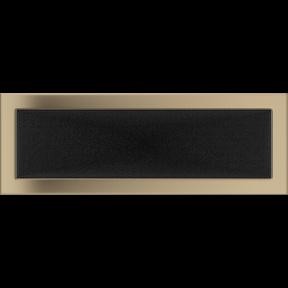 Решетка KRATKI золото гальваническое 17х49 см
