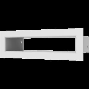 Решетка KRATKI туннель белая 6х20 см