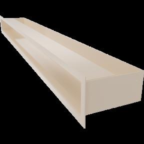 Решетка KRATKI люфт бежевая 9х100 см