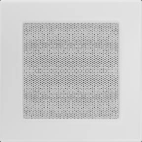 Решетка KRATKI белая (покрашенная) 17х17 см